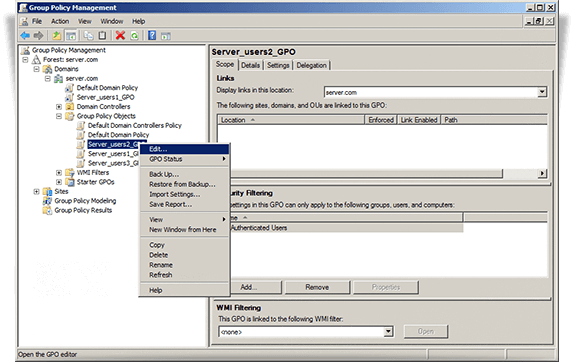 Software Deployment using GPO