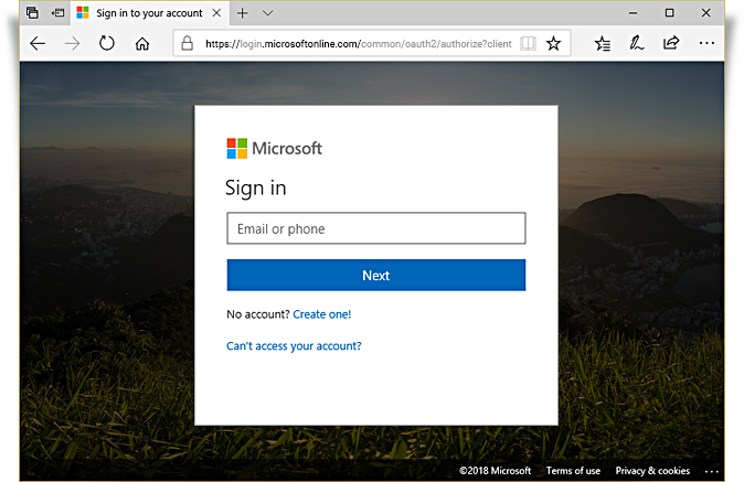 login to httpsportalofficecom as admin